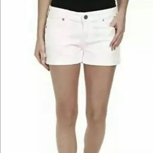 NWT Paige women's  denim cut off jean Shorts
